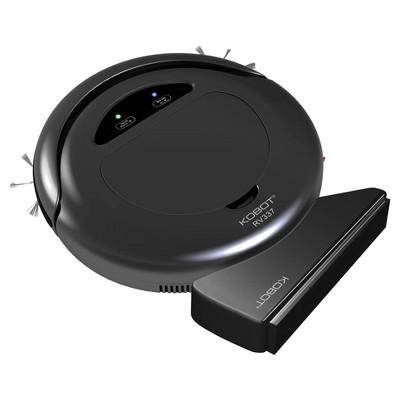 KOBOT RV337 Robotic Vacuum & Hard Floor Cleaner - Black