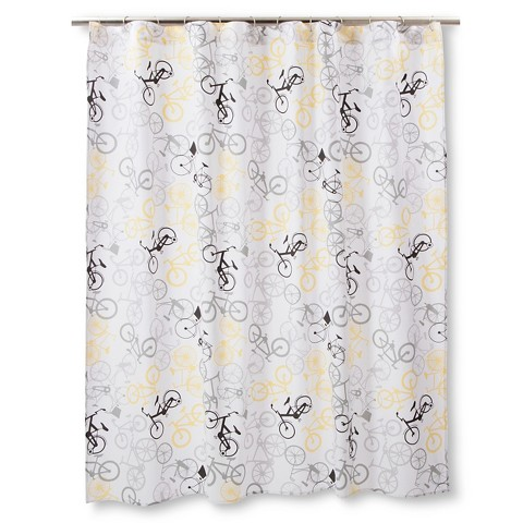 Navy And Gold Curtains Deny Shower Curtains