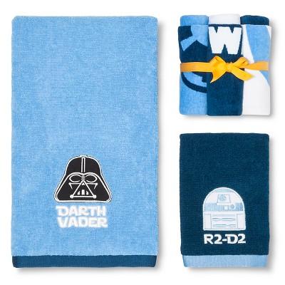 Star Wars Classic Bath Towel Set - Blue