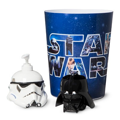 Star Wars Classic Bath Coordinate Collection - Blue/Black