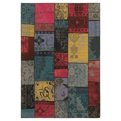 Fez Panel Area Rug - Multi-Colored (5'X8')