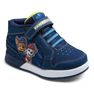 Toddler Boys' PAW Patrol Mid Top Sneakers - Blue 8