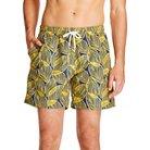 Men's Palm Swim Trunks Yellow - Trunks Surf & Swim