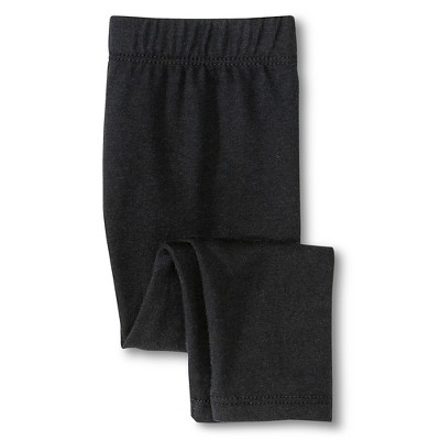 Newborn Girls' Knit Pant - Ebony 6-9 M