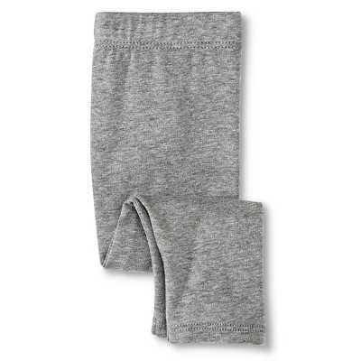 Newborn Girls' Knit Pant - Radiant Gray 3-6 M