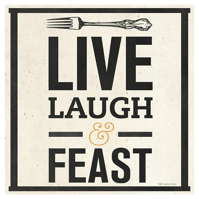 Thirstystone Live, Laugh and Feast Trivet
