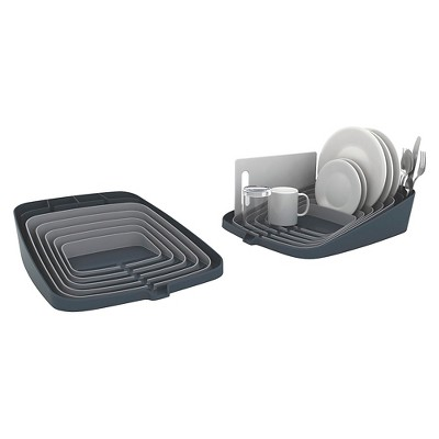 Joseph Joseph Arena™ Self-draining Dishrack - Grey