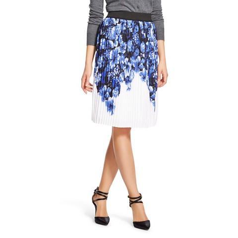 s border printed pleats skirt isani for target