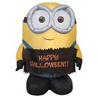 Halloween Airblown Minions Décor