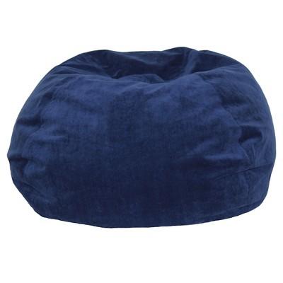 Herringbone Beanbag Navy - Pillowfort™