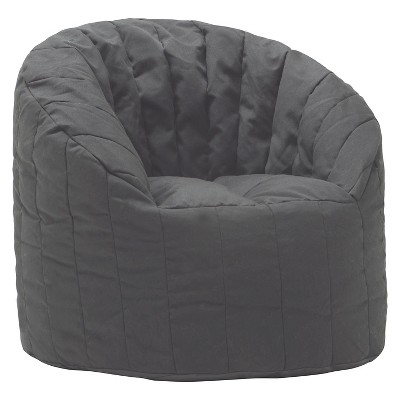 XL Bean Bag Club Chair - Black - Pillowfort™