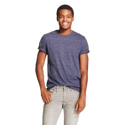 Men's V-Neck T-Shirt Blue - Mossimo Supply Co. XL