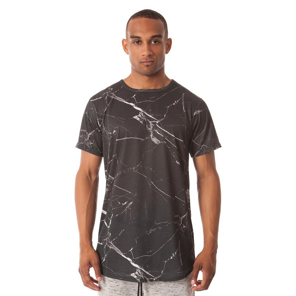 Jackson - Men's Curved Hem T-Shirt Black, Size: Small
