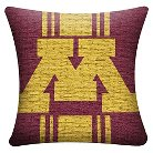 NCAA Minnesota Golden Gophers Woven Pillow - Multi-Colored