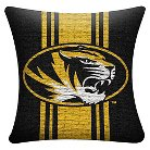 NCAA Missouri Tigers Woven Pillow - Multi-Colored