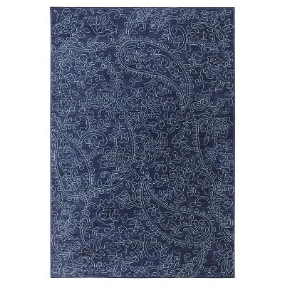 "Karastan Kingston Area Rug - Blue (9'6""x12'11"")"