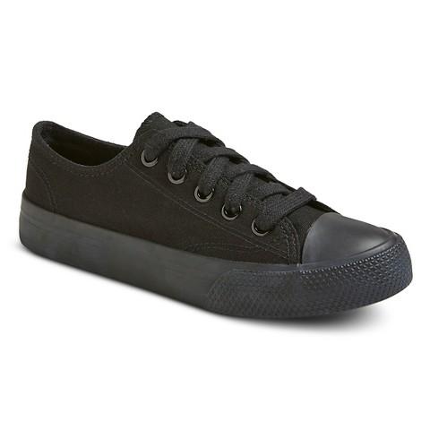 boys flurry canvas sneakers black target