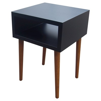 Room Essentials™ Mid Century Modern Accent Table - Black