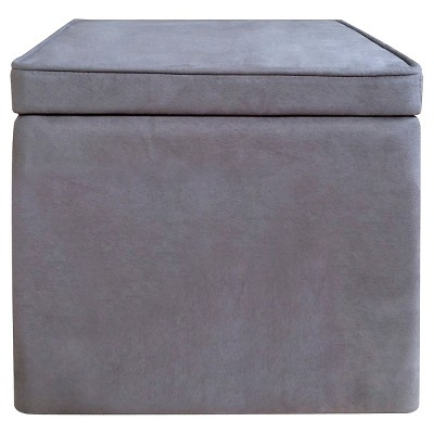 Room Essentials™ Cube Storage Ottoman - Gray
