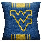 NCAA West Virginia Mountaineers Woven Pillow - Multi-Colored
