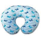 Boppy Pillow Blue Whales
