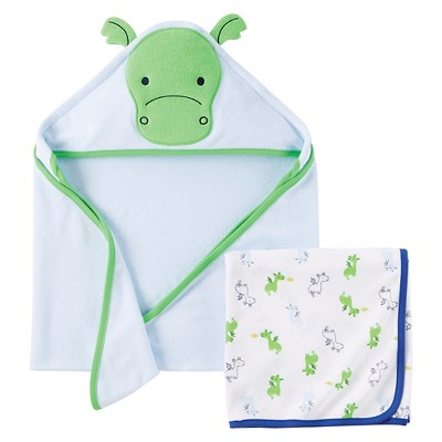 Just One You™ Made By Carter's® Newborn Boys' Hooded Bath Towel - Blue