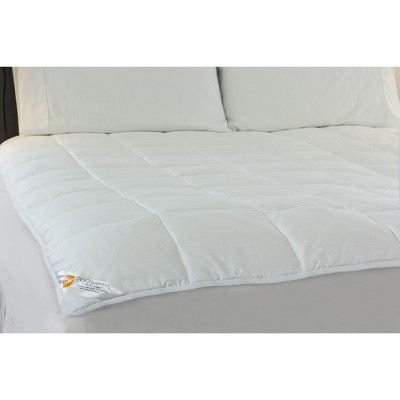 Outlast Temperature Regulating Mattress Pad - White (Queen)