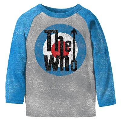 Male Tee Shirts The Who Gray 12 M