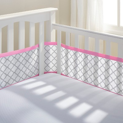 Breathable Baby® Clover Mesh Liner - Pink