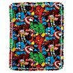 Marvel Comic Packed Micro Fleece Throw Kit