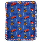 Disney Cars Team 95 Micro Fleece Throw Kit