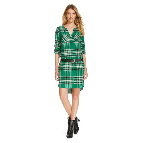 Cool Forever 21 Plaid Flannel Shirt Dress In Red Rednavy  Lyst