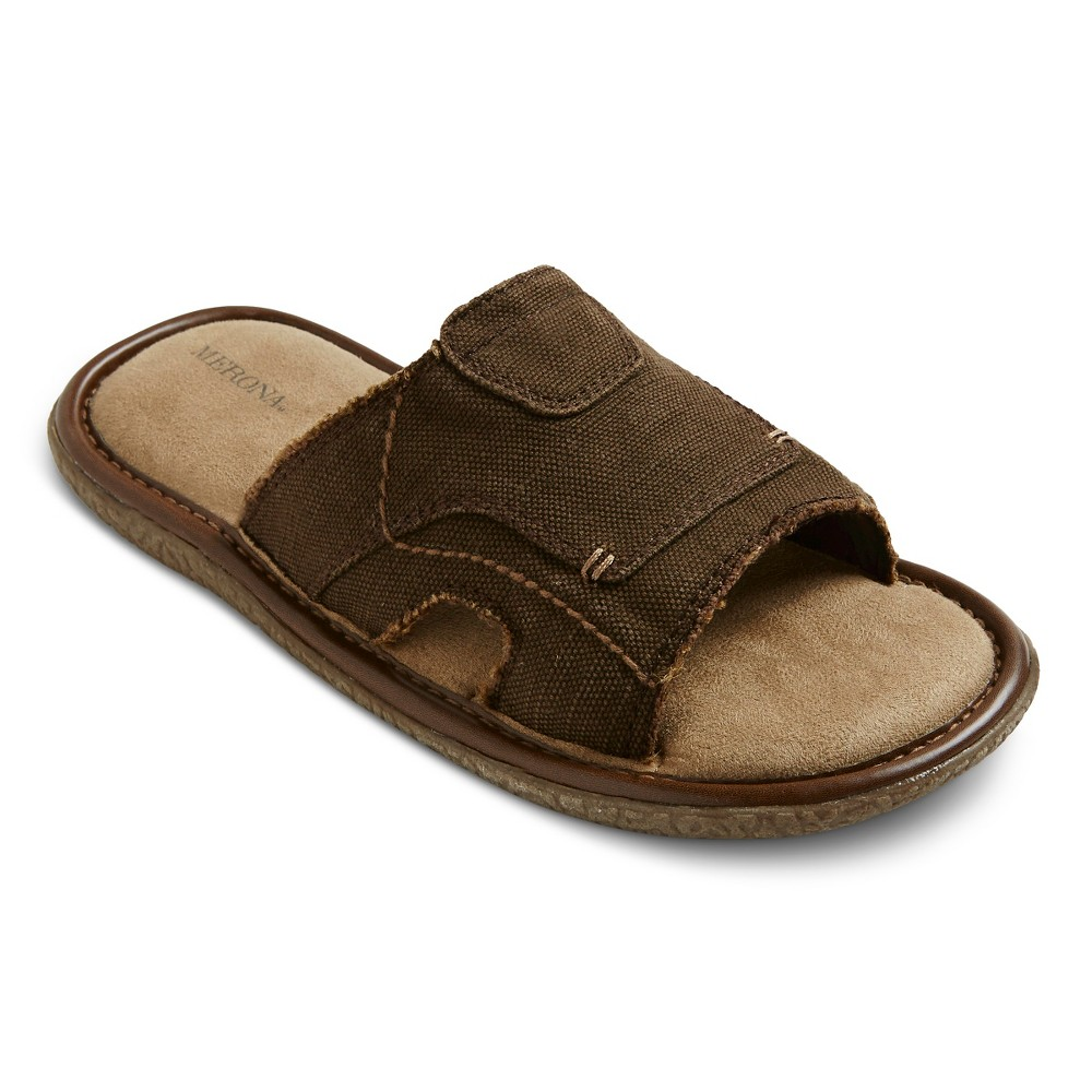 3676f4947f7a5 Merona Men s Mac Slide Sandals - Brown 10