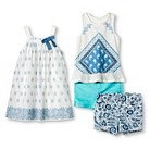 Toddler Girls' Patriotic Paisley Collection