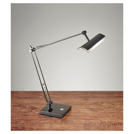 adesso clerk led desk lamp black target. Black Bedroom Furniture Sets. Home Design Ideas