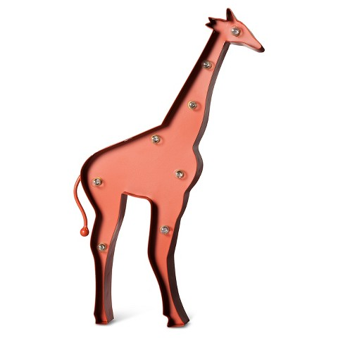 Giraffe Led Marquee Light Red Target