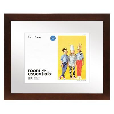 Float Frame - Espresso - 16x20 Glass for 11x14 Photo - Room Essentials™