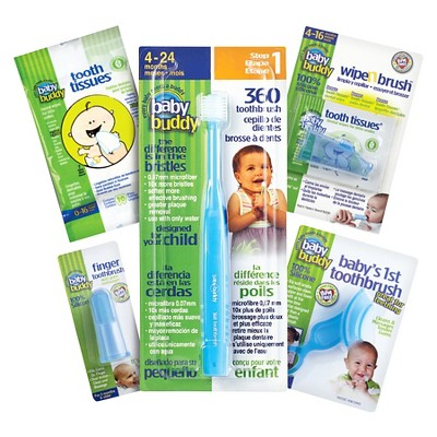 Baby Buddy Infant Oral Care Set - Blue