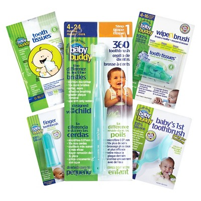 Baby Buddy Infant Oral Care Set - Green