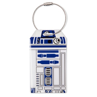 Star Wars R2D2 Luggage Tag - Multi-colored