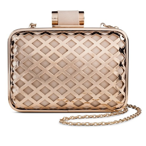 Loving this diamond cut-out clutch - only $35!