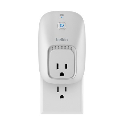 Belkin WeMo Switch with the Home Automation App for Smartphones and Tablets - White (F7C027fc-P1)