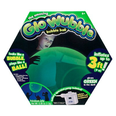 Wubble Glo Ball with Pump Green