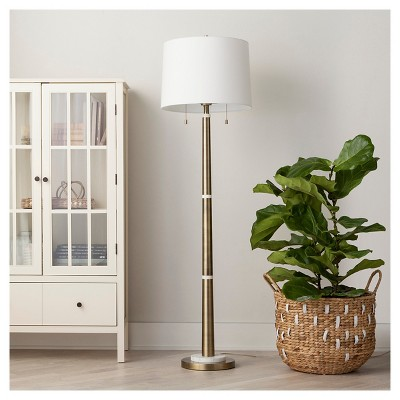 Franklin Floor Lamp - Brass -Threshold™