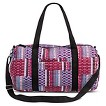 Women's Quilted Plaid Weekender Handbag