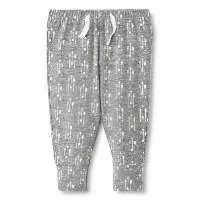 M Cr Lounge Pants Grey 0-3 M