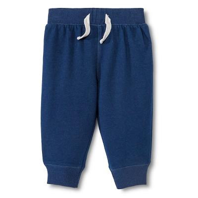 Infant Boys' Jogger Pants Nighttime Blue 3-6M - Circo™