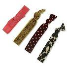 Girls' 4pk Fashion Hair Ties - Cherokee®