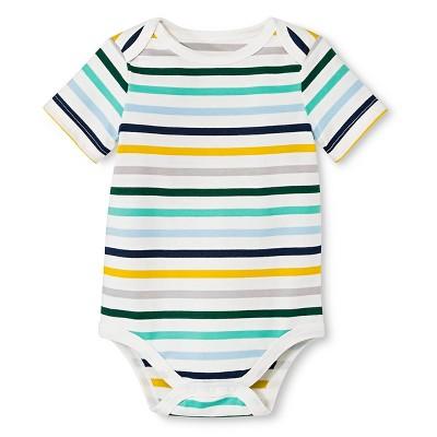 Newborn Boy Bodysuit Cove Point Cream 3-6 M