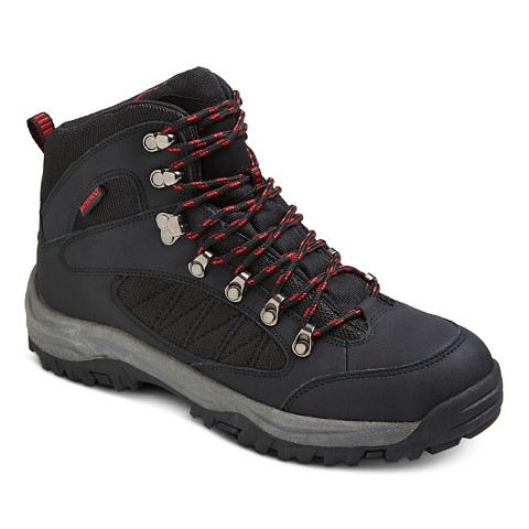 s tahoe hiking boots black